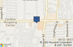 Bing Map of 9801 Westheimer Rd Ste 208 Houston, TX 77042