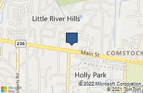 Bing Map of 9882 Main St Fairfax, VA 22031