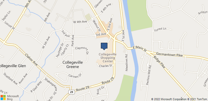 99 2nd Ave Collegeville, PA, 19426 Map