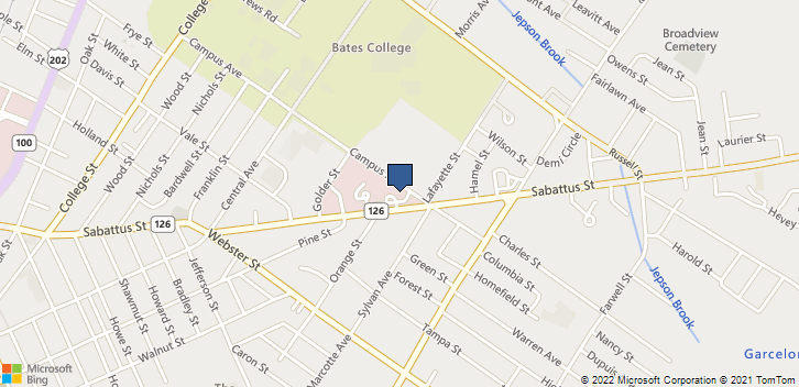 99 Campus Ave Lewiston, ME, 04240 Map