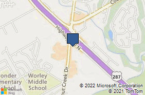 Bing Map of 990 N Walnut Creek Dr Ste 1005 Mansfield, TX 76063