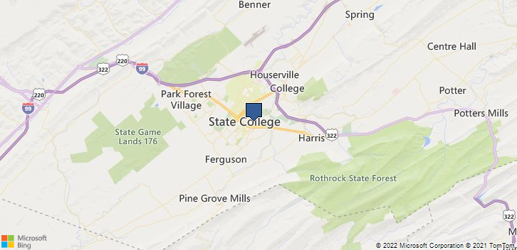 Geisinger Med Grp State College, PA, 16801 Map