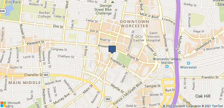 Hemodialysis Unit Worcester, MA, 01601 Map