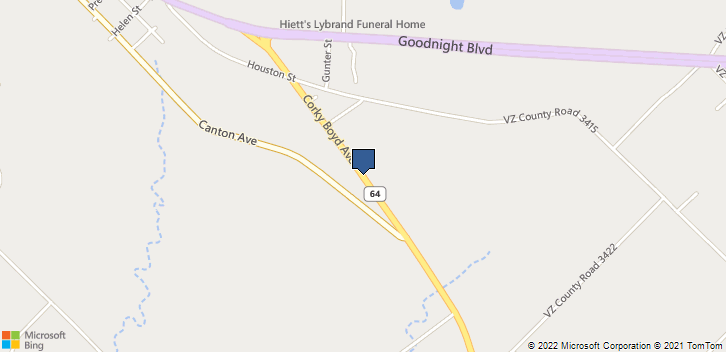 Highway 64 E Wills Point, TX, 75169 Map