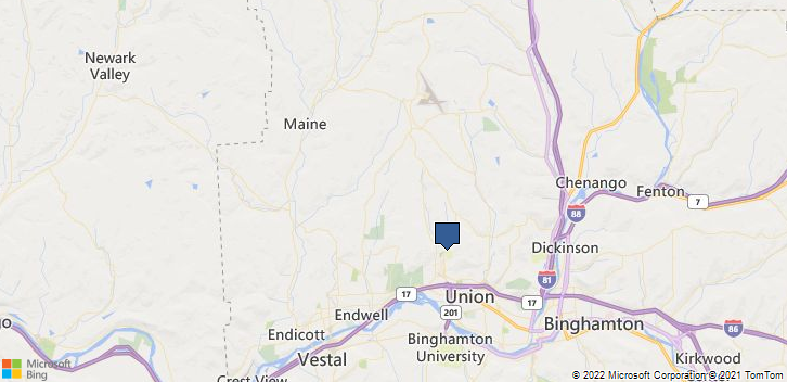 Oakdale Road, Oakdale Mall Johnson City, NY, 13790 Map