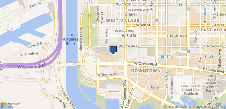 One World Trade Ctr Suite 2340  Long Beach, CA, 90831 Map