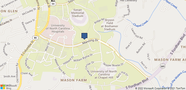 Program On Aging Chapel Hill, NC, 27599 Map