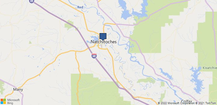 Serving Your Area Natchitoches, LA, 71457 Map