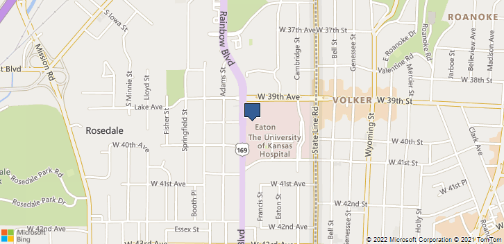 Univ Of Ks Med Ctr 3901 Rainbow Blvd Kansas City, KS, 66160 Map