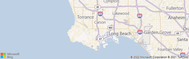 Los Angeles, California, United States Map