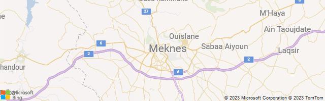 Meknes, Fes-Meknes, Morocco Map