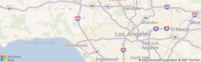 Beverly Hills, California, United States Map