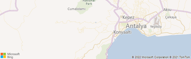 Antalya, Antalya, Turkey Map