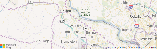 Ashburn, Virginia, United States Map