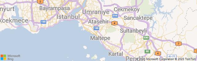 Istanbul, Istanbul, Turkey Map