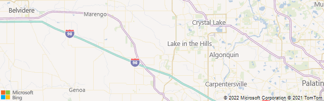Huntley, Illinois, United States Map