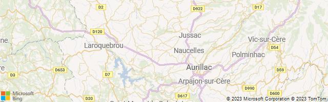Crandelles, Auvergne-Rhone-Alpes, France Map