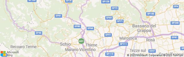 San Dona, Veneto, Italy Map