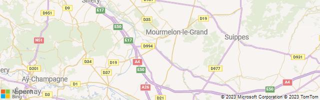 Louvercy, Grand Est, France Map