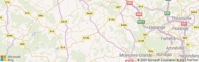 Landres, Grand Est, France Map