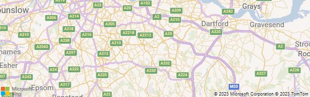 Bromley, England, United Kingdom Map