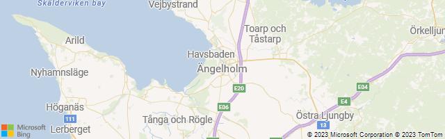 Ängelholm, Skåne, Sweden Map