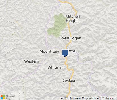 Zip Code 25601 Neighborhood Information | Homefacts Woodrum S Lake Wv Map Of on