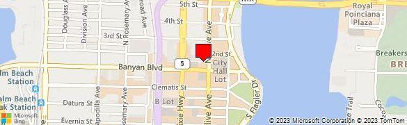 Wells Fargo Bank At 303 Banyan Blvd In West Palm Beach Fl 33401