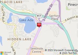 Map Of Avis Location Sanford