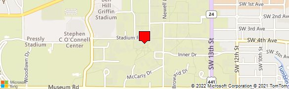 University Of Florida Location Map.Wells Fargo Bank At 132 Hub Stadium Rd In Gainesville Fl 32601
