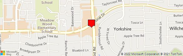 Map 77079.Wells Fargo Bank At 14001 Memorial Dr In Houston Tx 77079