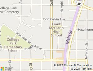 Search Historic College Park By Map