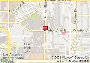 Los Angeles Map Location.Avis Los Angeles Lax Airport Car Rentals