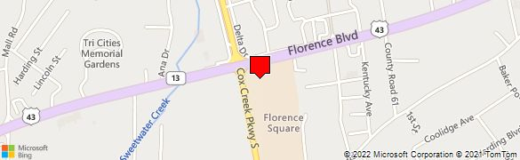 Florence Al Zip Code Map.Wells Fargo Bank At 2716 Florence Blvd In Florence Al 35630