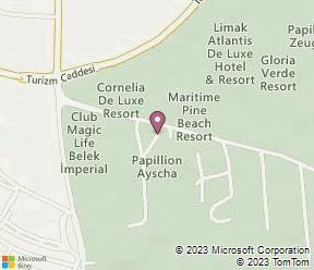 Papillon Ayscha Resort & Spa Map