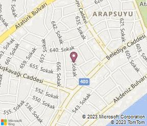 Send Apart Otel Map