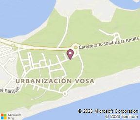 ADH Isla Cristina Map