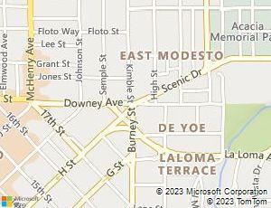 Modesto Map Waterford Modesto Shuttle U Stanislaus Regional - California map modesto
