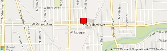 53209 Zip Code Map.Wells Fargo Bank At 3323 W Villard Ave In Milwaukee Wi 53209