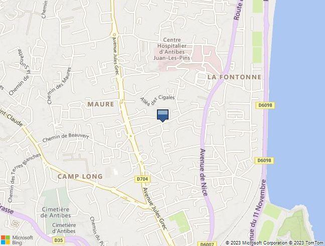 APPARTEMENT (35,46 m² - lot 23 - 3è ét.) GARAGE (lot 57 - s-s) à ANTIBES (06)