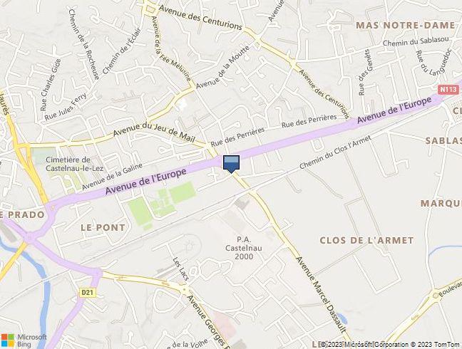 APPARTEMENT à CASTELNAU LE LEZ (34)