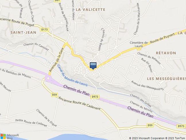 MAISON DE VILLE à LAURIS (84)