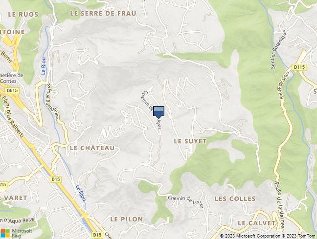 PARCELLE DE TERRAIN (2.903 m²) à CONTES (06)