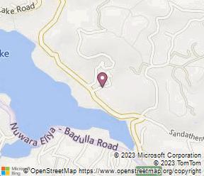 Royal Hills Nuwara Eliya Map