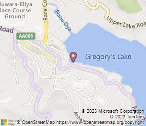 Calamander Lake Gregory Map