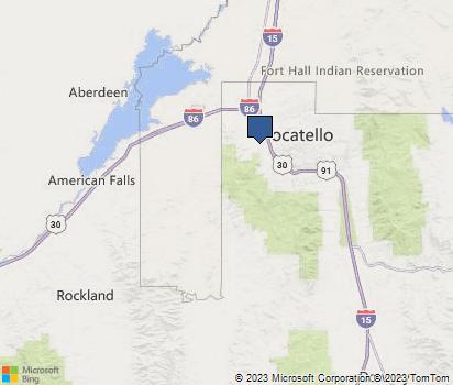 Pocatello Zip Code Map.Zip Code 83204 Homefacts