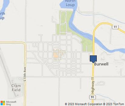 Burwell Nebraska Map.Burwell Ne In Garfield County Homefacts