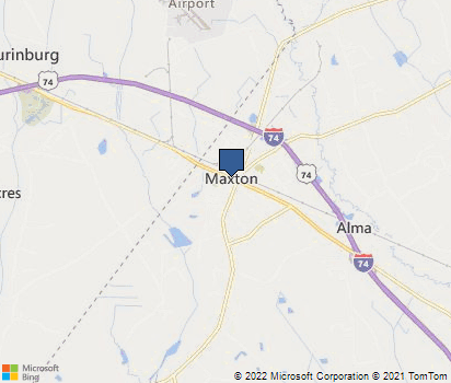 Maxton Nc Map.Maxton Nc In Robeson County Homefacts
