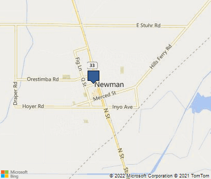 Newman California Map.Newman Ca In Stanislaus County Homefacts