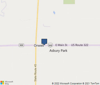 Orwell Ohio Map.Orwell Oh In Ashtabula County Homefacts
